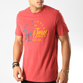 /achat-t-shirts/jack-and-jones-tee-shirt-mirror-rouge-brique-192005.html
