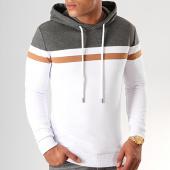 /achat-sweats-capuche/lbo-sweat-capuche-tricolore-843-blanc-anthracite-camel-192060.html