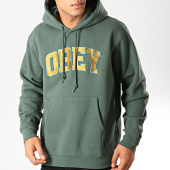 /achat-sweats-capuche/obey-sweat-capuche-sports-vert-192011.html