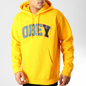 /achat-sweats-capuche/obey-sweat-capuche-sports-jaune-192013.html