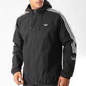 /achat-vestes/adidas-veste-zippee-capuche-a-bandes-outline-trefoil-ed4688-noir-blanc-192199.html