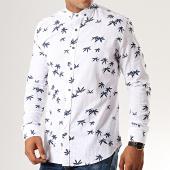 /achat-chemises-manches-longues/black-needle-chemise-manches-longues-floral-y-3417-blanc-bleu-marine-192136.html