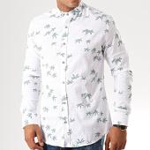 /achat-chemises-manches-longues/black-needle-chemise-manches-longues-floral-y-3417-blanc-vert-192169.html