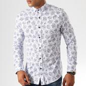 /achat-chemises-manches-longues/classic-series-chemise-manches-longues-floral-2042-blanc-bleu-marine-192175.html