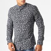 /achat-chemises-manches-longues/classic-series-chemise-manches-longues-floral-2042-bleu-marine-fonce-gris-192186.html