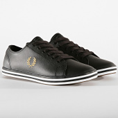 /achat-baskets-basses/fred-perry-baskets-kingston-leather-b7163-black-192222.html