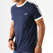 /achat-t-shirts/fred-perry-tee-shirt-a-bandes-taped-ringer-m6347-bleu-marine-192231.html