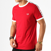 /achat-t-shirts/fred-perry-tee-shirt-a-bandes-taped-ringer-m6347-rouge-192232.html