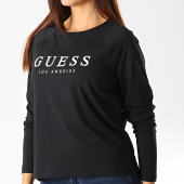 /achat-t-shirts-manches-longues/guess-tee-shirt-manches-longues-femme-o94i08-jr05s-noir-192200.html