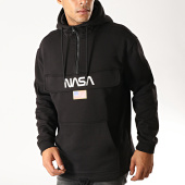 /achat-sweats-capuche/nasa-sweat-outdoor-col-zippe-flag-noir-192274.html