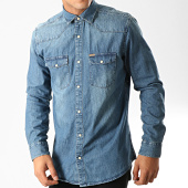 /achat-chemises-manches-longues/only-and-sons-chemise-manches-longues-jean-odin-western-bleu-denim-192273.html