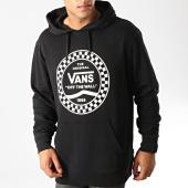 /achat-sweats-capuche/vans-sweat-capuche-checkered-side-456qb-noir-blanc-192171.html