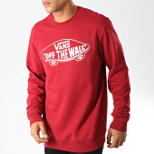 /achat-sweats-col-rond-crewneck/vans-sweat-crewneck-off-the-way-ii-bordeaux-blanc-192187.html