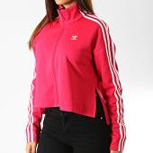 /achat-vestes/adidas-veste-zippee-crop-femme-a-bandes-ed4755-rose-fushia-blanc-192334.html