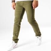 /achat-jeans/american-people-jean-slim-pascal-vert-kaki-192320.html
