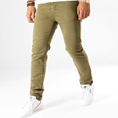 /achat-jeans/american-people-jean-slim-pascal-vert-kaki-192322.html