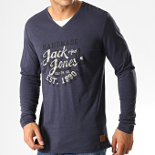 /achat-t-shirts-manches-longues/jack-and-jones-tee-shirt-manches-longues-gaston-bleu-marine-192446.html
