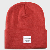/achat-bonnets/jack-and-jones-bonnet-long-knit-rouge-192449.html