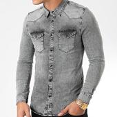 /achat-chemises-manches-longues/lbo-chemise-jean-manches-longues-867-gris-denim-192312.html