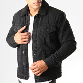 /achat-vestes-jean/only-and-sons-veste-jean-col-mouton-louis-noir-192289.html