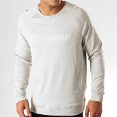 /achat-sweats-col-rond-crewneck/calvin-klein-sweat-crewneck-1769-gris-chine-192521.html