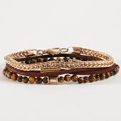 /achat-bracelets/icon-brand-bracelet-b1247-dore-marron-192542.html