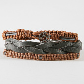 /achat-bracelets/icon-brand-bracelet-le1277-marron-192545.html
