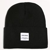 /achat-bonnets/jack-and-jones-bonnet-long-knit-noir-192468.html