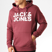 /achat-sweats-capuche/jack-and-jones-sweat-capuche-corp-logo-bordeaux-192471.html
