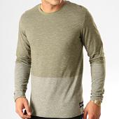/achat-t-shirts-manches-longues/jack-and-jones-tee-shirt-manches-longues-signs-vert-kaki-chine-192477.html