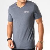 /achat-t-shirts/jack-and-jones-tee-shirt-col-v-vally-bleu-marine-chine-192668.html