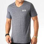 /achat-t-shirts/jack-and-jones-tee-shirt-col-v-vally-bleu-marine-chine-192674.html