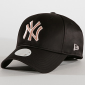 /achat-casquettes-de-baseball/new-era-casquette-femme-9forty-satin-12040386-new-york-yankees-noir-192626.html