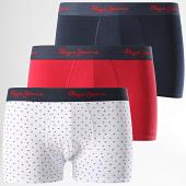 /achat-boxers/pepe-jeans-lot-de-3-boxers-bram-blanc-rouge-bleu-marine-192682.html