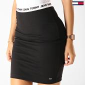 /achat-jupes/tommy-hilfiger-jeans-jupe-femme-bodycon-7221-noir-blanc-192507.html
