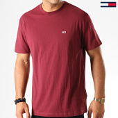 /achat-t-shirts/tommy-jeans-tee-shirt-classics-6061-bordeaux-192527.html