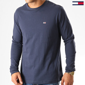 /achat-t-shirts-manches-longues/tommy-hilfiger-jeans-tee-shirt-manches-longues-classics-6959-bleu-marine-192532.html