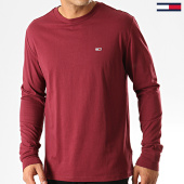 /achat-t-shirts-manches-longues/tommy-jeans-tee-shirt-manches-longues-classics-6959-bordeaux-192534.html