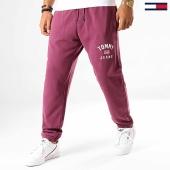 /achat-pantalons-joggings/tommy-hilfiger-jeans-pantalon-jogging-washed-logo-6971-violet-192544.html