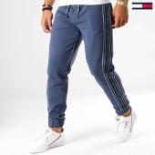 /achat-pantalons-joggings/tommy-hilfiger-jeans-pantalon-jogging-a-bandes-tape-6973-bleu-marine-192546.html
