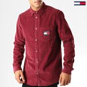/achat-chemises-manches-longues/tommy-hilfiger-jeans-chemise-manches-longues-7131-bordeaux-192565.html