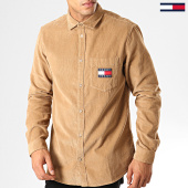 /achat-chemises-manches-longues/tommy-hilfiger-jeans-chemise-manches-longues-7131-camel-192567.html