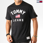 /achat-t-shirts/tommy-hilfiger-jeans-tee-shirt-usa-flag-7068-noir-192592.html