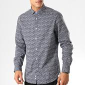 /achat-chemises-manches-longues/celio-chemise-manches-longues-paris-bleu-marine-floral-192766.html