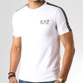 /achat-t-shirts/ea7-tee-shirt-a-bandes-6gpt13-pj20z-blanc-192773.html