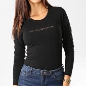 /achat-t-shirts-manches-longues/emporio-armani-tee-shirt-manches-longues-femme-a-strass-163229-9a219-noir-dore-192753.html