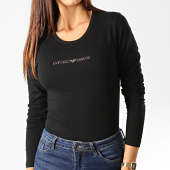 /achat-t-shirts-manches-longues/emporio-armani-tee-shirt-manches-longues-femme-a-strass-163229-9a263-noir-dore-192762.html