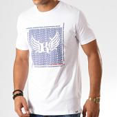 /achat-t-shirts/kaporal-tee-shirt-pasto-blanc-bleu-marine-rouge-192806.html