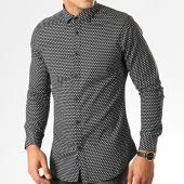 /achat-chemises-manches-longues/mtx-chemise-manches-longues-s7339-noir-blanc-192740.html