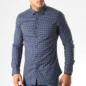 /achat-chemises-manches-longues/mtx-chemise-manches-longues-s7221-bleu-marine-blanc-192742.html